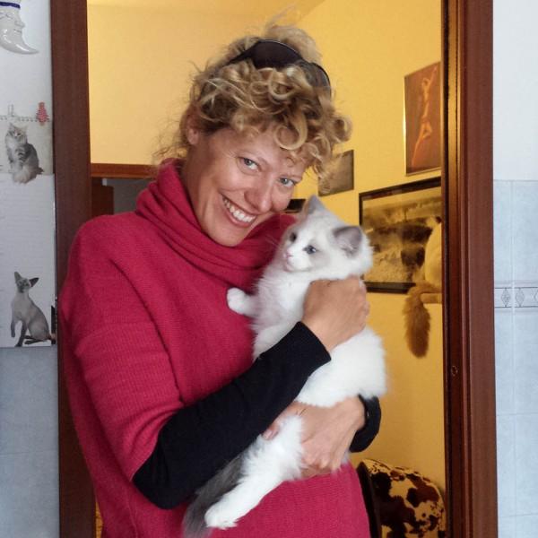 Marianna De Micheli e BluQueen Jingjok